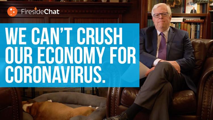 We Can't Crush Our Economy for Coronavirus