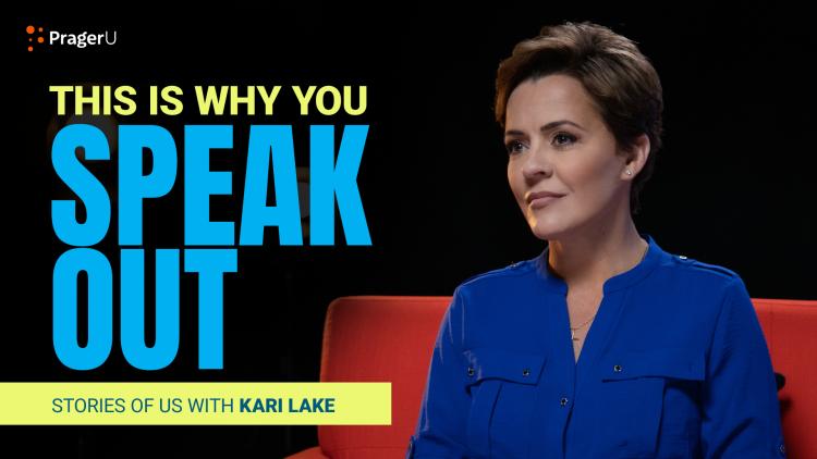 Kari Lake: Don't Be Afraid to Speak Out
