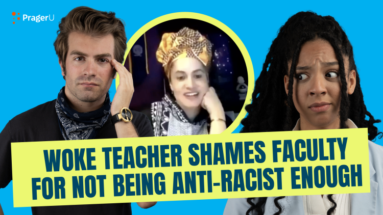 Woke Teacher Shames Faculty for Not Being Anti-Racist Enough