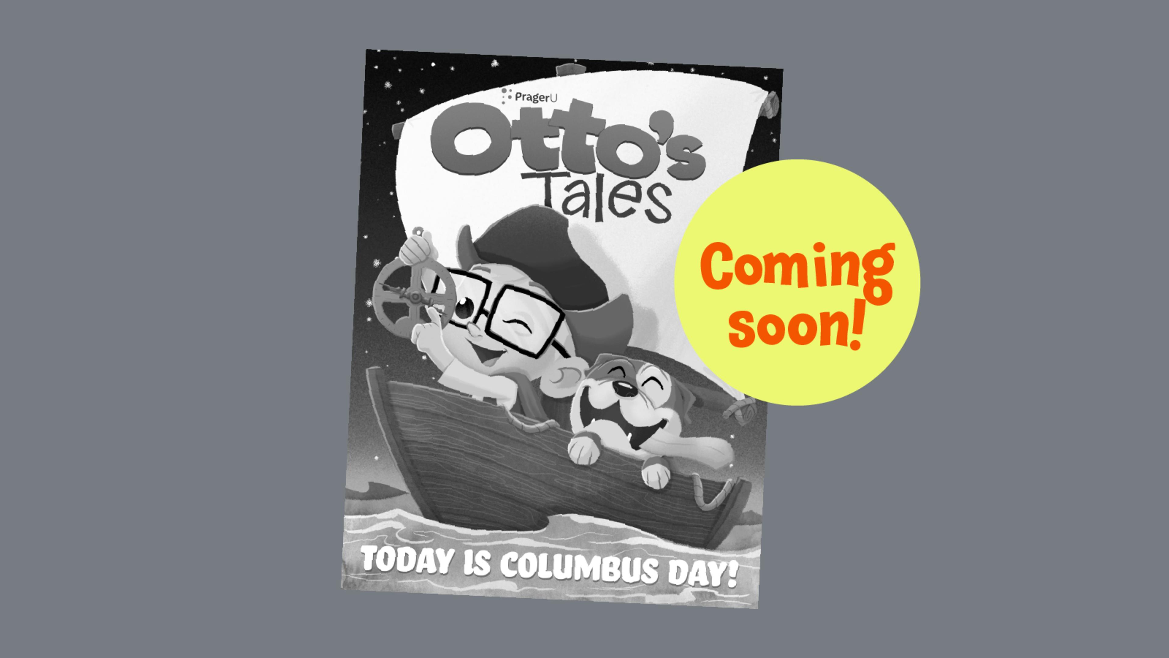 OttosTales ColumbusDay ComingSoon
