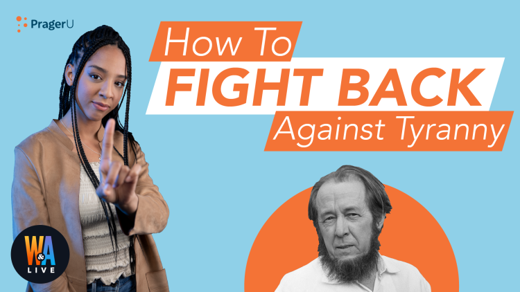 How to Fight Back against Tyranny
