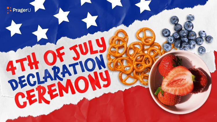 Craftory: 4th of July Declaration Ceremony