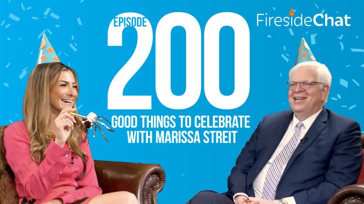 Ep. 200 — Good Things to Celebrate with PragerU CEO Marissa Streit Dennis Prager
