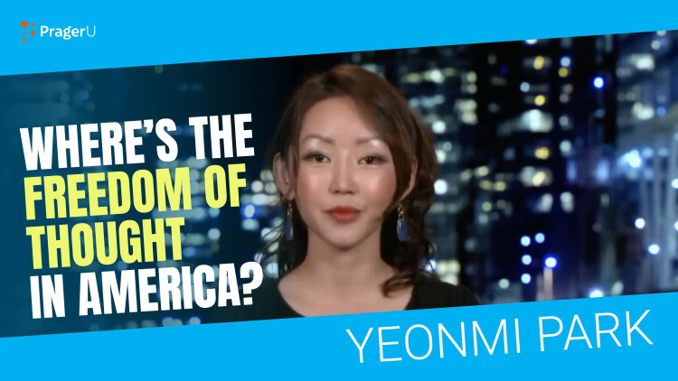 North Korean Defector: Where's the Freedom of Thought in America?