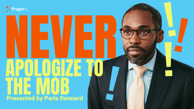 Never Apologize to the Mob