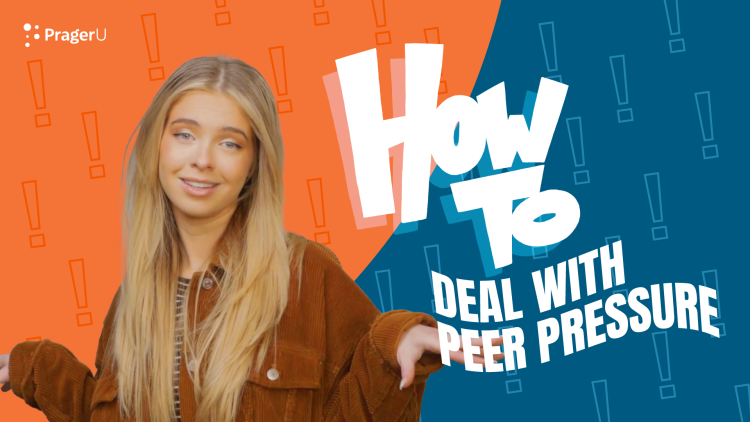 How To Deal with Peer Pressure