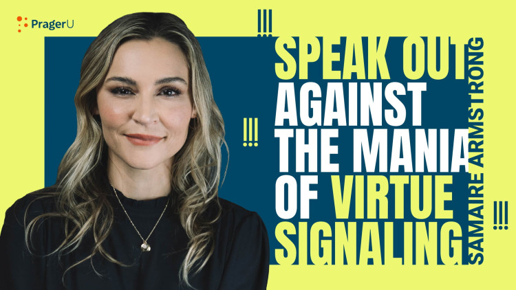 Speak Out against the Mania of Virtue Signaling