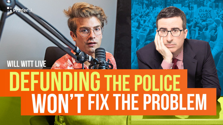 """Will Witt Debunks """"Defunding the Police"""""""
