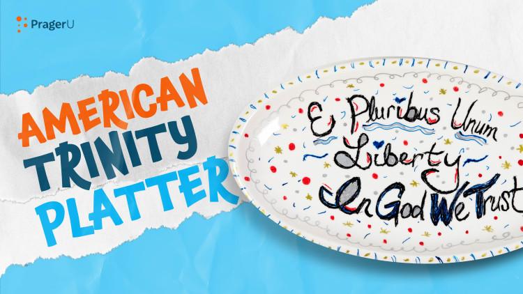 Craftory: American Trinity Platter