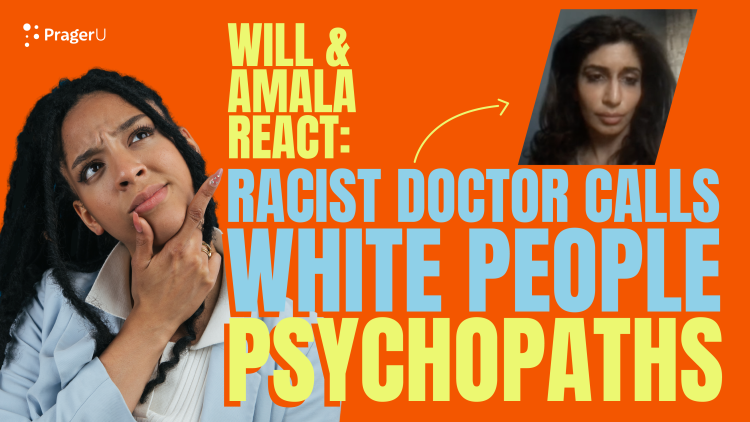 Racist Doctor Calls White People Psychopaths
