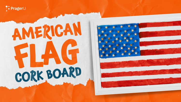 Craftory: American Flag Cork Board