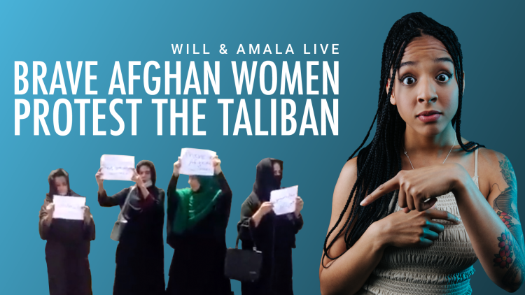 Brave Afghan Women Protest the Taliban
