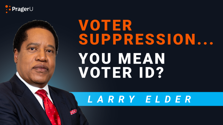 Voter Suppression... You Mean Voter ID?