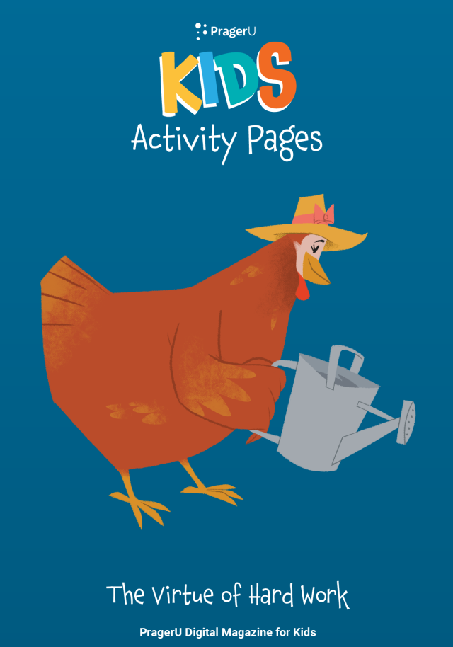 Little Red Hen's Activity & Coloring Pages