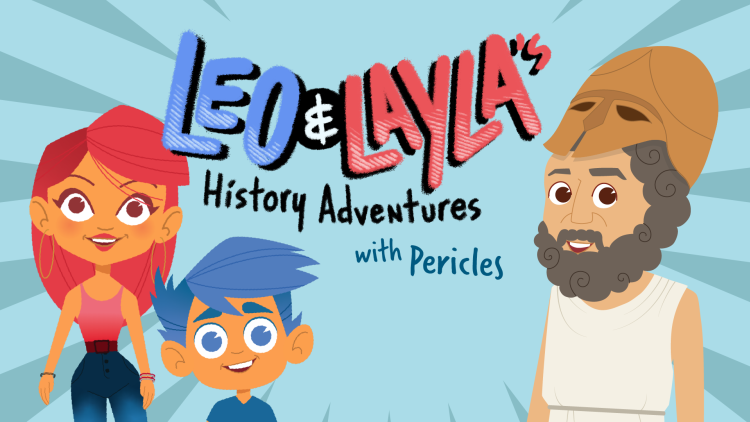 Leo & Layla's History Adventures with Pericles