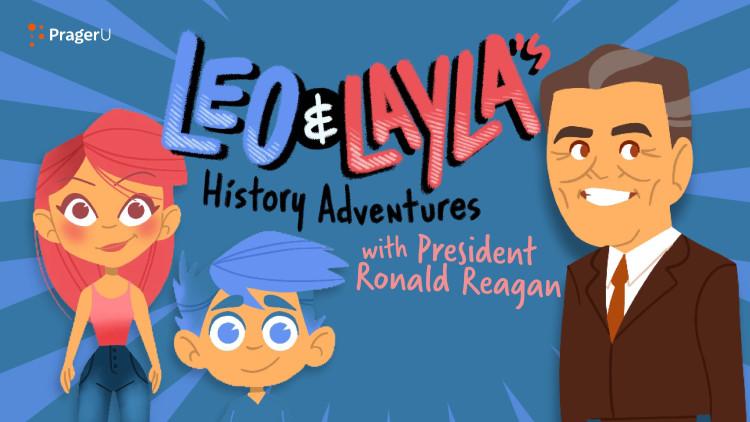 Leo & Layla's History Adventures with President Ronald Reagan