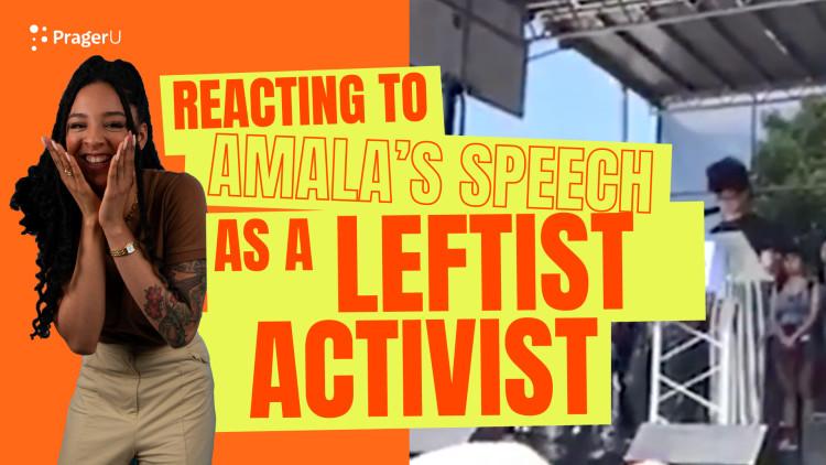 Amala Ekpunobi Reacts to Her 2018 Speech as a Leftist Activist