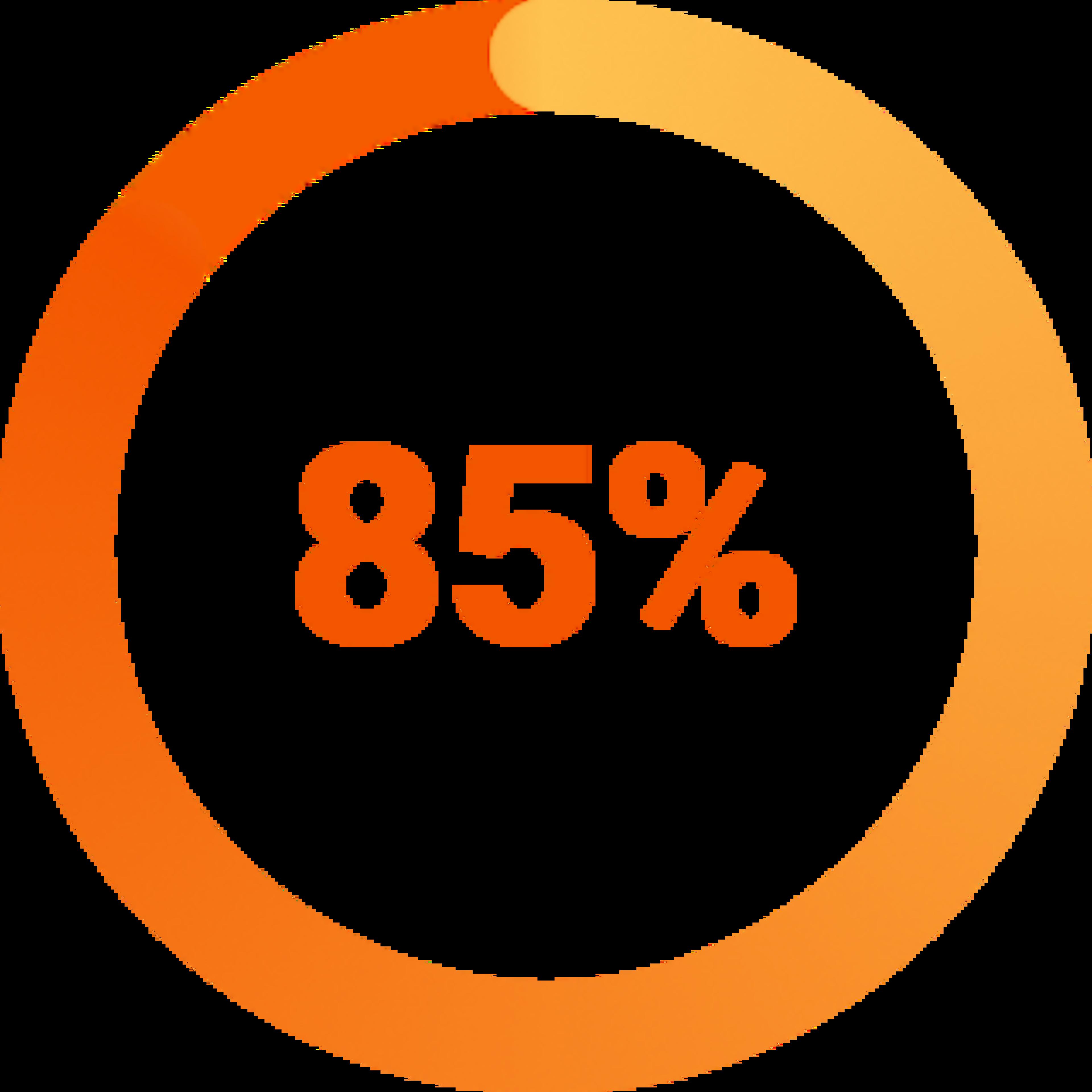 percent-85