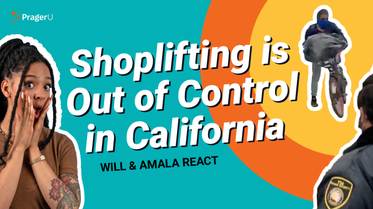 Shoplifting Is Out of Control in California