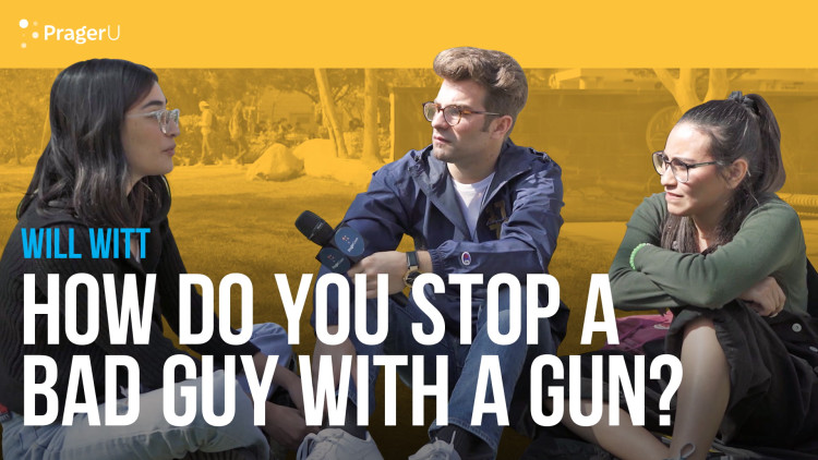 How Do You Stop a Bad Guy With a Gun?