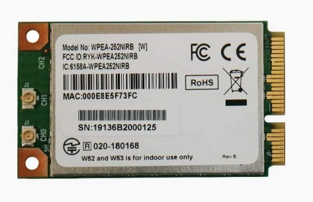 WPEA-252NIRB Sparklan tietoliikennekomponentit