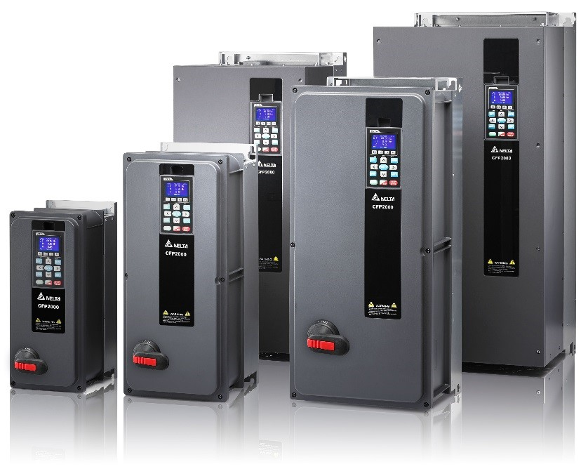 IP55 variable frequency drives Delta Electronics