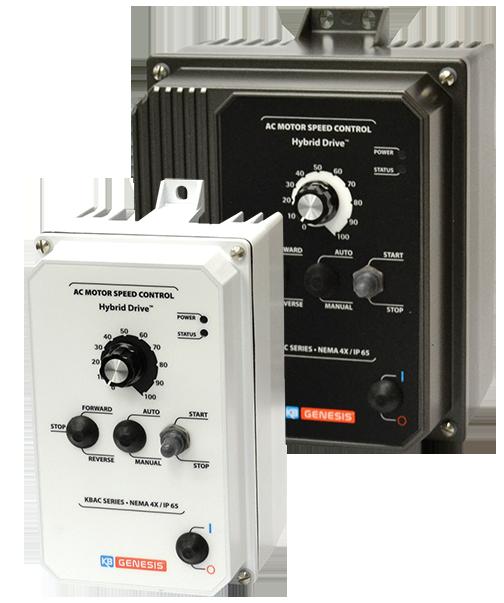 IP65 taajuusmuuttajat KB Electronics