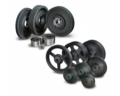 V belt pulleys and bushings