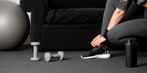 Home Sweet Gym: How Audible Can Help Turn Your Living Room into a Workout Space