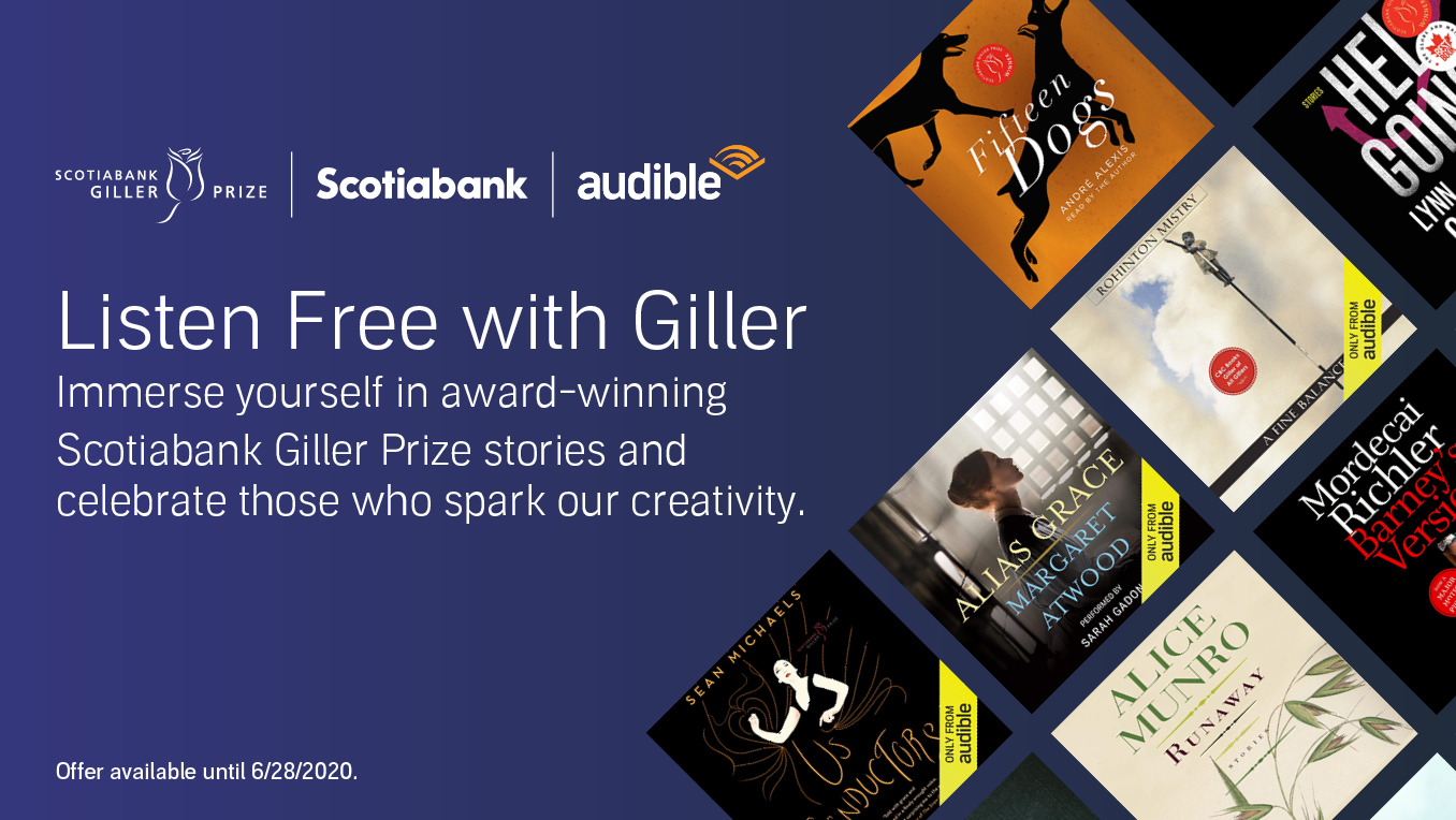 Award-winning Scotiabank Giller Prize stories and book lists.