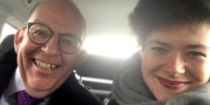 Nora Gomringer zu Gast bei Denis Scheck