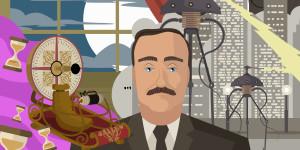 Urvater der modernen Audio-Unterhaltung: H.G. Wells