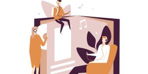 La musique, compagnon idéal du livre audio