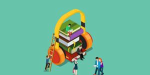 Audible Hörkompass 2018 |  Mehr hören, weniger Social Media