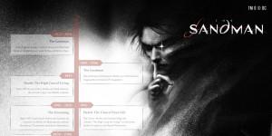 Sandman: Die Infografik zum Kult-Comic von Neil Gaiman