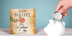 Ken Follett et l'art de trouver du temps pour les livres audio