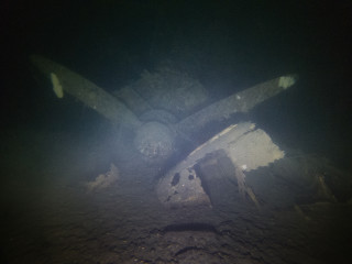 Propeller front view