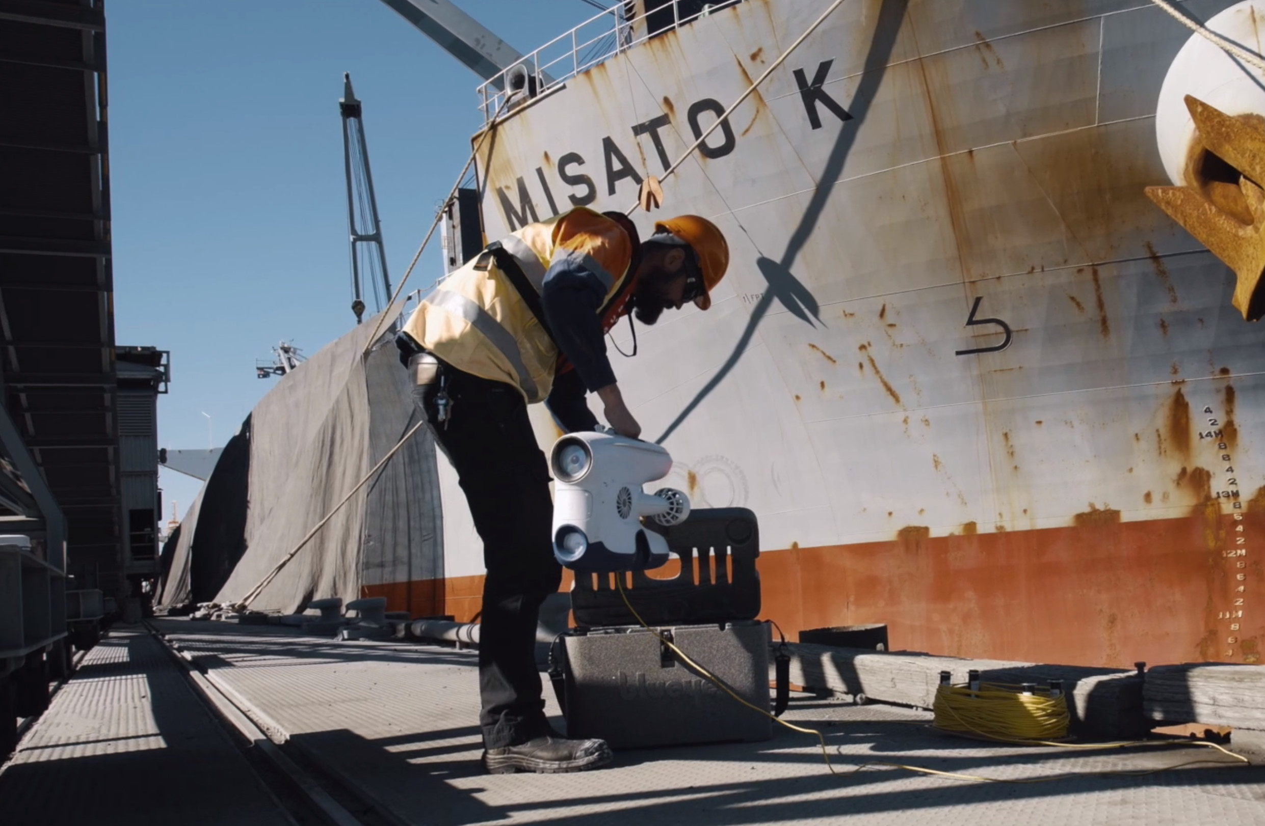 Inchcape Shipping Services inspecting a vessel