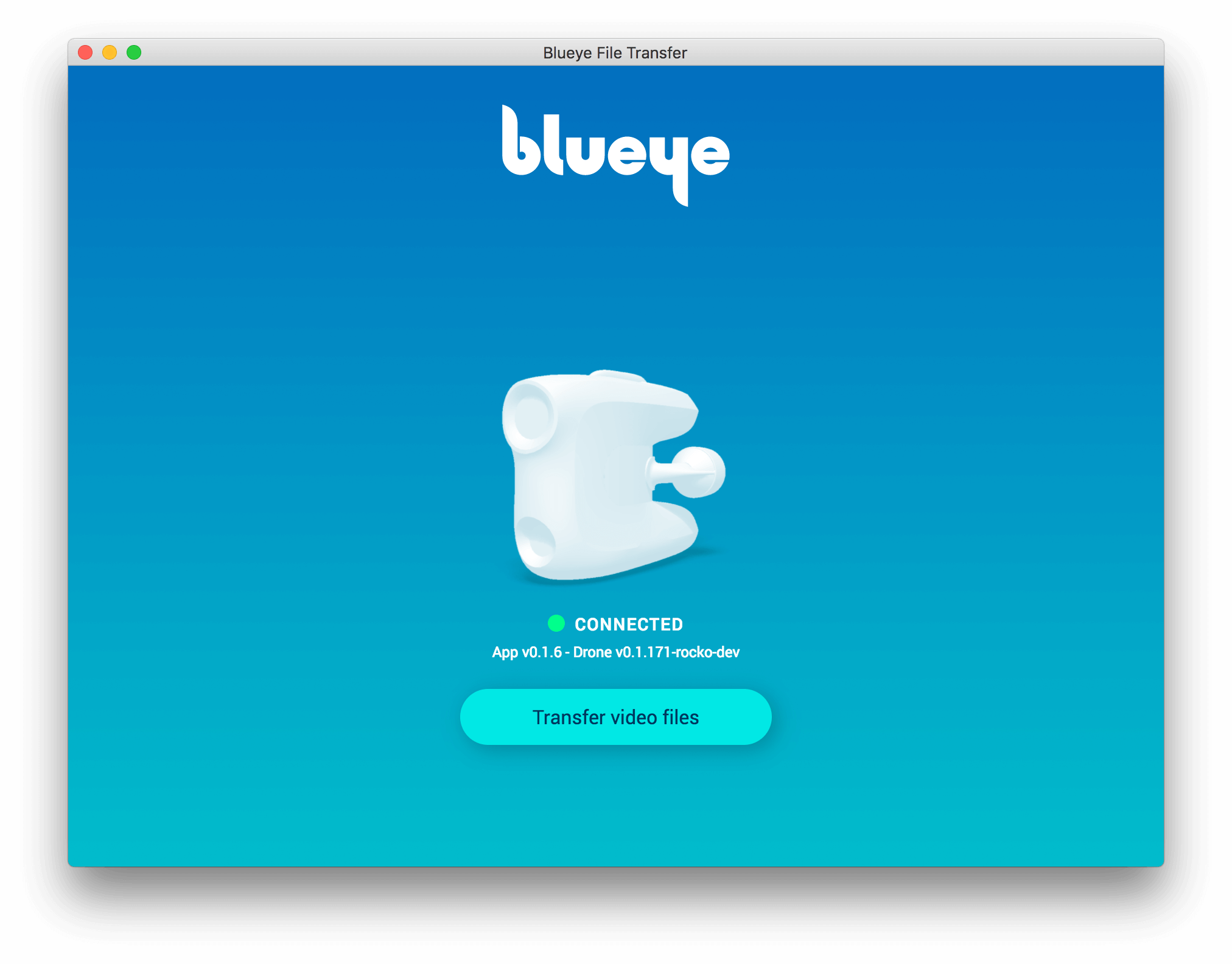 Blueye File Transfer Screenshot