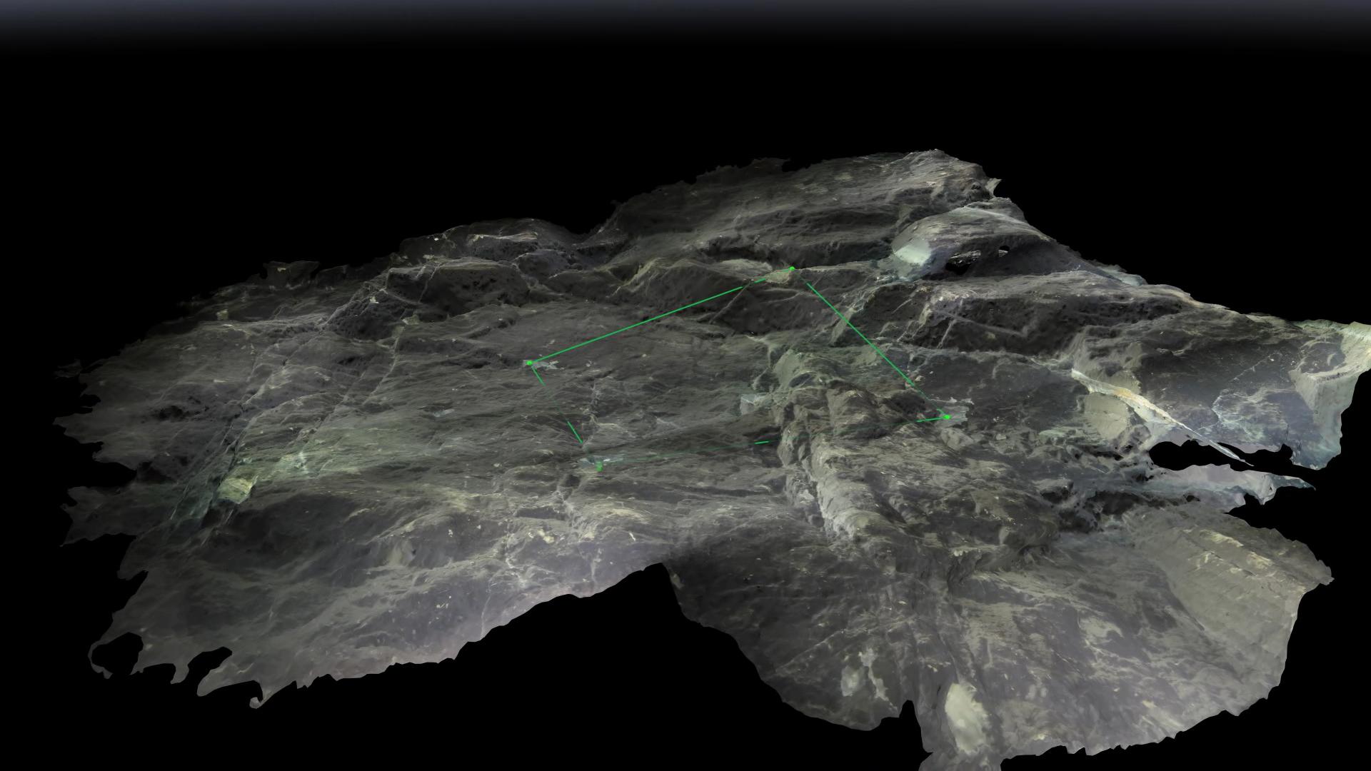 3D fotogrammetri av sonderingsborr