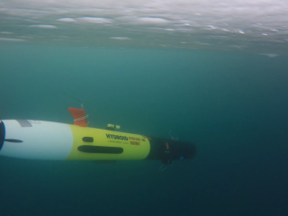 AUV REMUS flying into the unknown under the ice