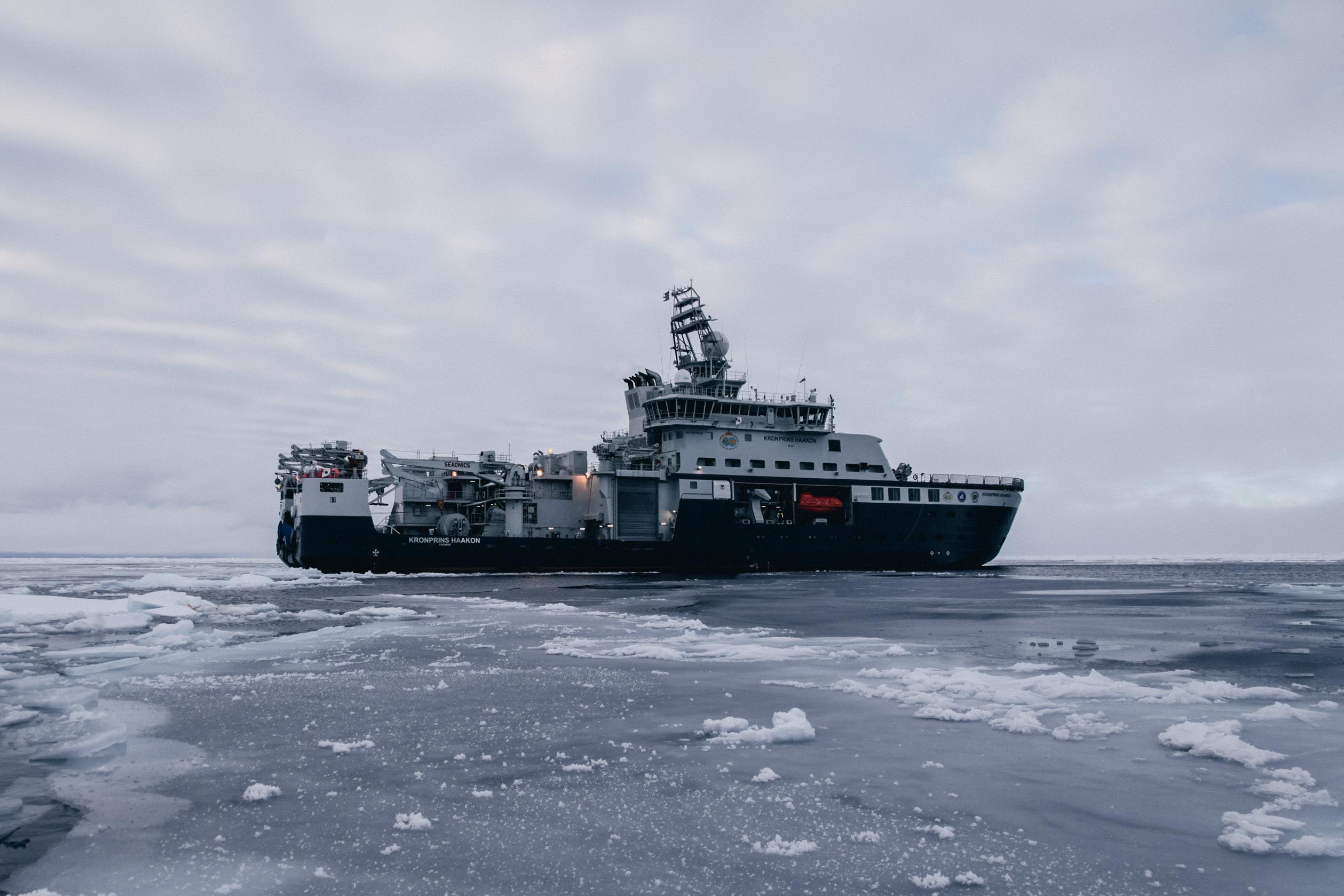 Forskningsfartøyet Kronprins Haakon