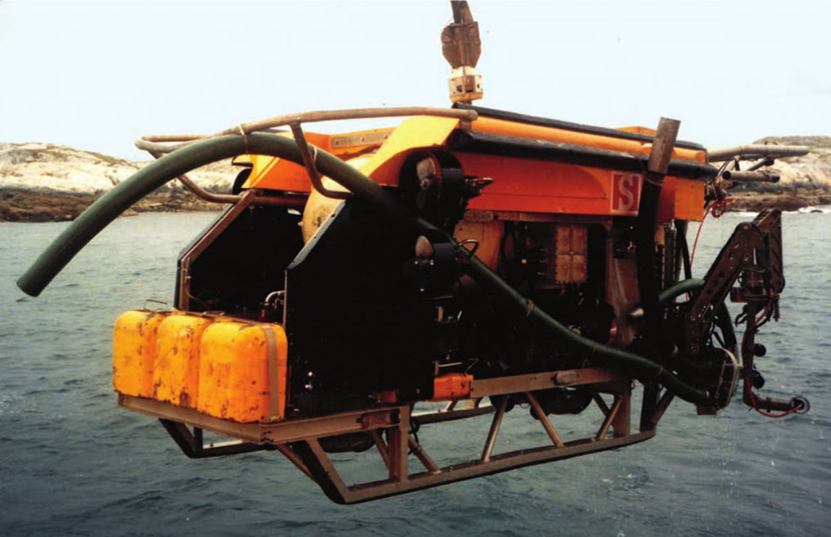 SOLO work-class ROV