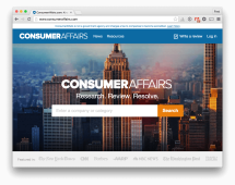 Consumer Affairs: Consumer Affairs website