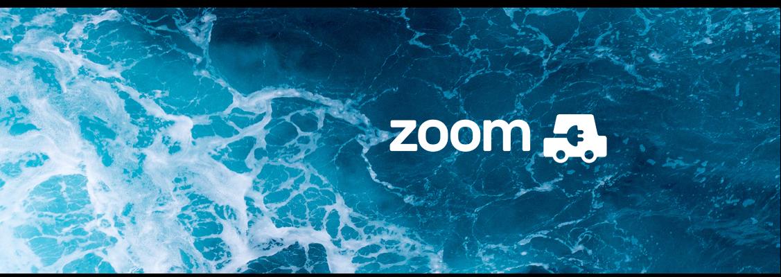 Zoom EV Sustainability Ocean Banner