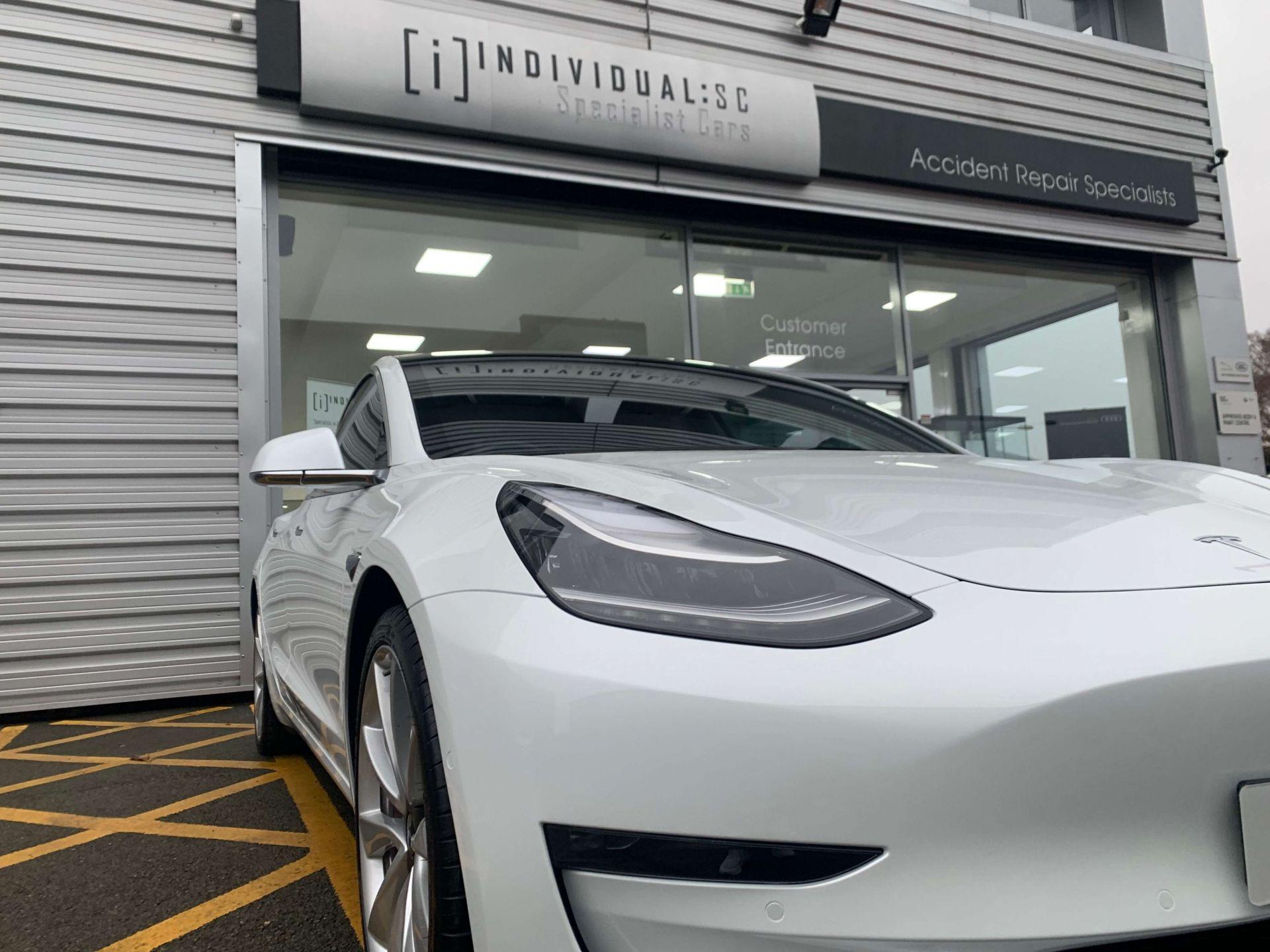 Ollie Tesla Fixed Zoom EV Accident Management