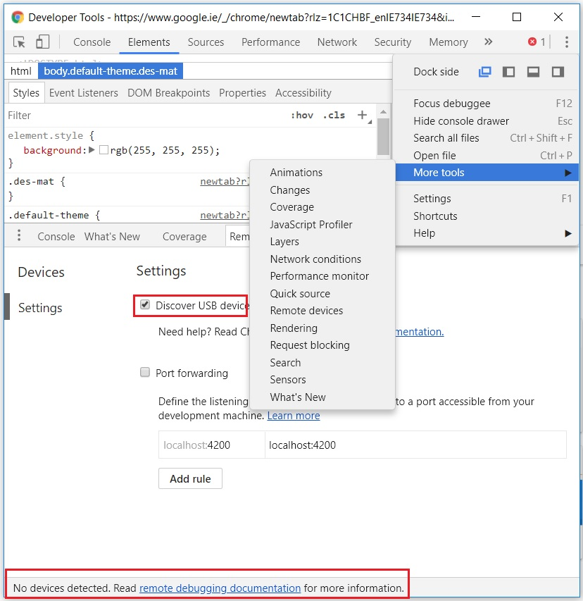 BCodes | Debugging Viewport Height in Chrome & Firefox for