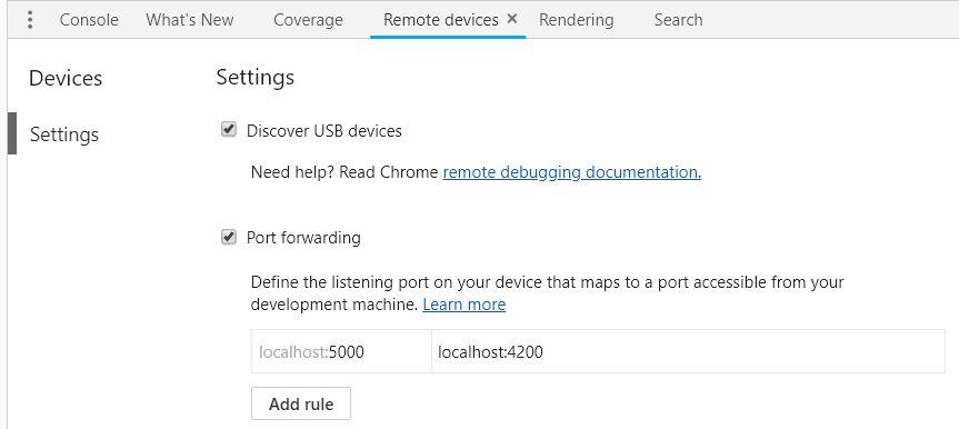 05 a Chrome Localhost Setup