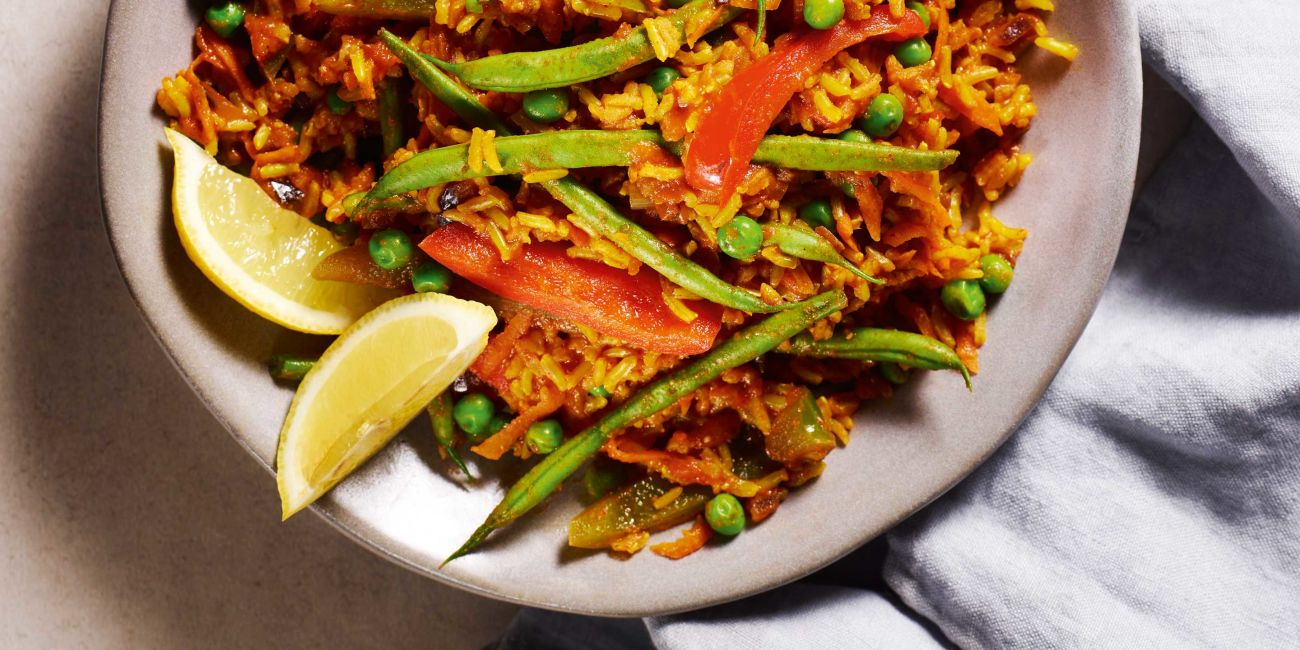 Spanish smoky rice