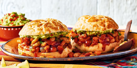 Veggie sloppy joes